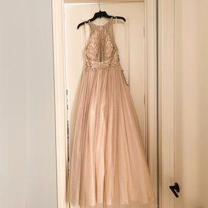 Gorgeous Beaded Betsy & Adam Dress